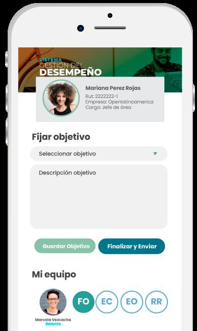 Sistema gestión del desempeño-mobile