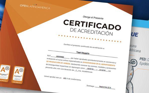 certificado curso bioseguridad